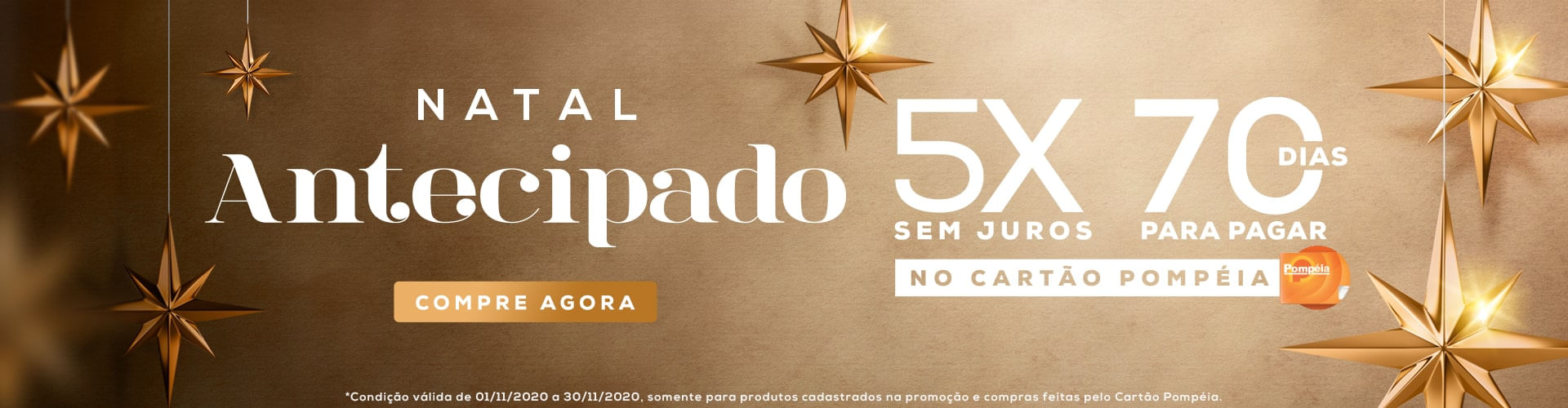 Natal Antecipado, encontre o presente ideal!