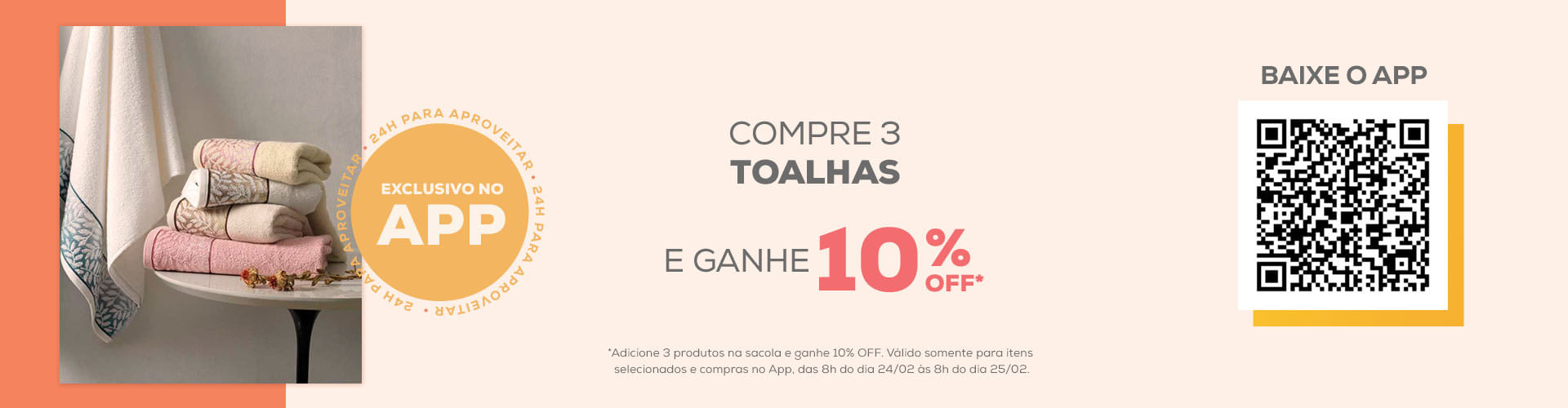 Ação exclusiva APP