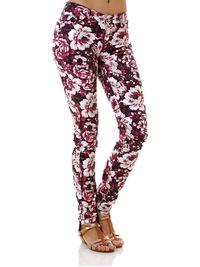 Calca-Jeans-Feminina-Floral-Rosa