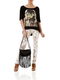Calca-Jeans-Feminina-Animal-Print-Off-White
