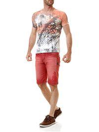 Bermuda-Jeans-Masculina-Gangster-Vermelha