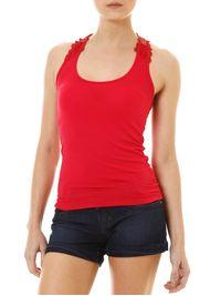 Blusa-Regata-Feminina-Vermelha