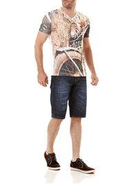 Camiseta-Manga-Curta-Masculina-Branca-Cobre