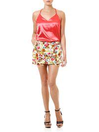Short-Saia-Feminino-Floral-Vermelho