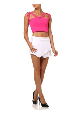 Top-Cropped-Feminino-Com-Renda-Rosa