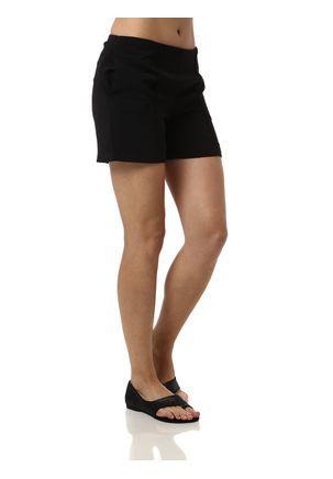 Short-Casual-Feminino-Autentique-Preto