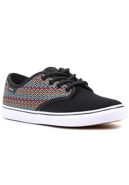 Tenis-Casual-Feminino-Freeday-For-Star-Preto-Multicolorido