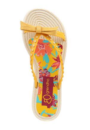 Chinelo-Rasteiro-Feminino-Grendha-Resort-Amarelo