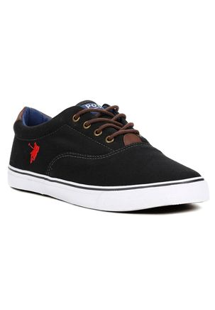 Tenis-Casual-Masculino-Polo-Shoes-Preto