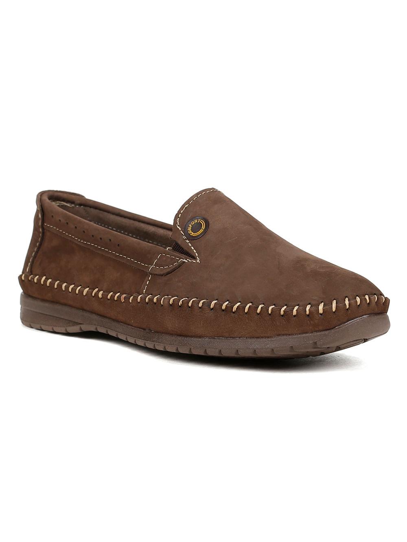 78ad29c22 Sapato Mocassim Masculino Eletron Sport Marrom escuro - Lojas Pompeia