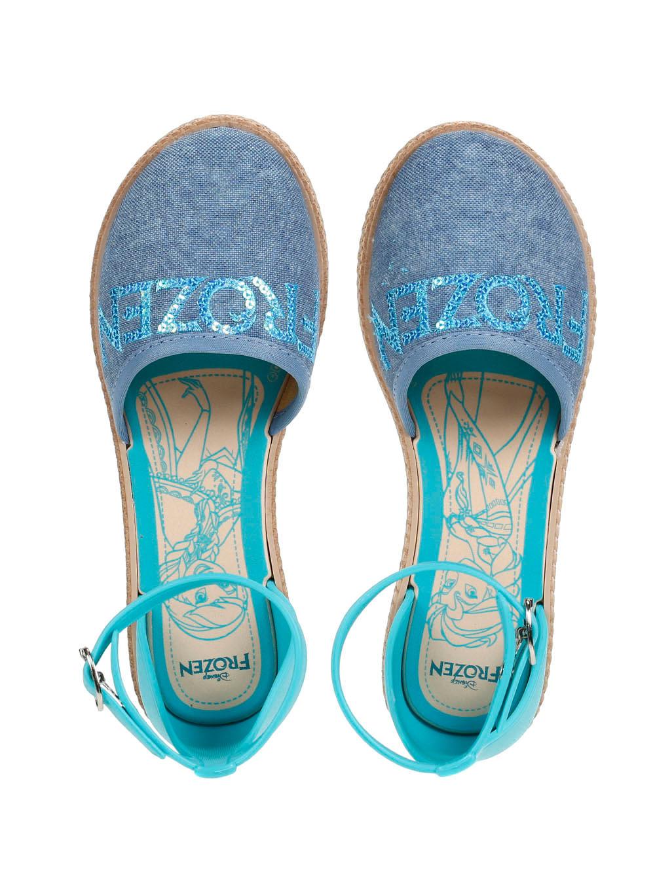 21a8a1ebe8 Sandália Infantil Para Menina Frozen Encantada - Azul - Lojas Pompeia
