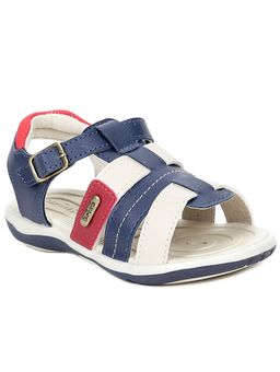 Sandalia-Infantil-para-Bebe-Menino---Bege-Azul