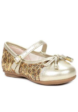 Sapato-Infantil-para-Bebe-Menina-Dourado