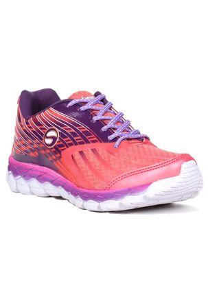 Tênis Esporte Feminino Rosa roxo 4a13b9462af18