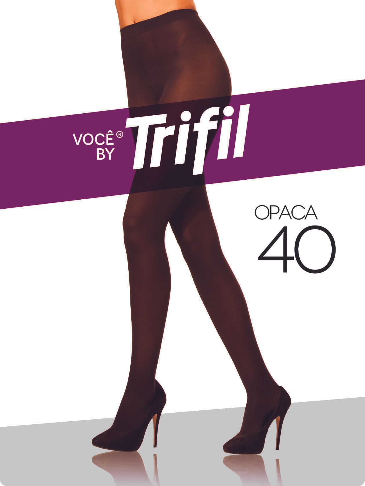 d259ae439 Meia-Calça Feminina Trifil Fio 40 Marrom - Lojas Pompeia