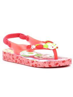 Sandalia-Infantil-para-Menina-Moranguinho-Pop-Baby-Rosa-Vermelha