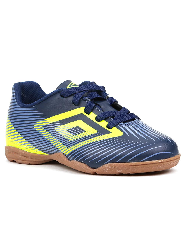 53ae64152d Tênis de Futsal Infantil Para Menino Umbro Speed Ii Jr Azul marinho verde