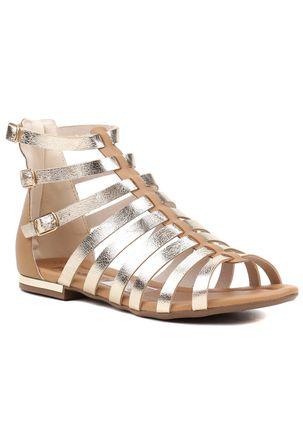 Sandalia-Rasteira-Feminina-Piccadilly-Gladiadora-Dourada-Caramelo