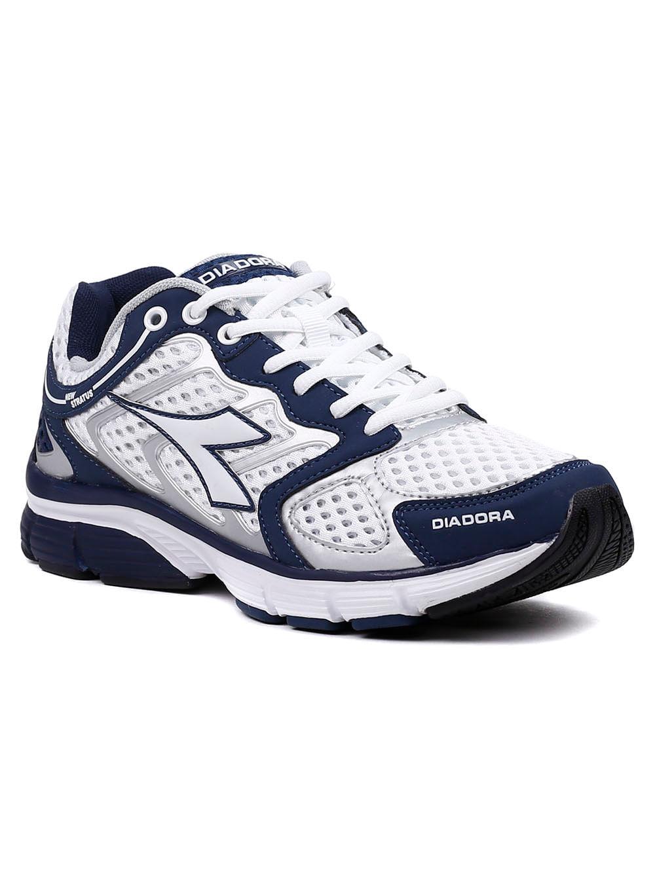 a7787974d3a Tênis Esporte Masculino Diadora New Stratus Branco azul marinho ...