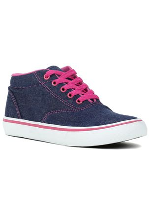Tenis-Casual-Feminino-Teen-Mid-Azul-Rosa