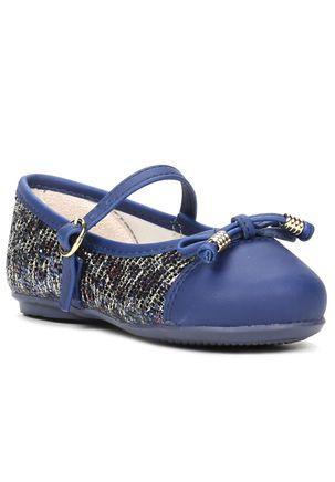 Sapato-Infantil-para-Bebe-Menina-Azul-Marinho