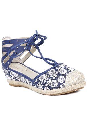Sandalia-Infantil-para-Menina---Azul-Marinho