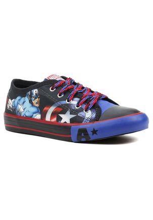 Tenis-Infantil-para-Menino-Marvel-Capitao-America-Preto