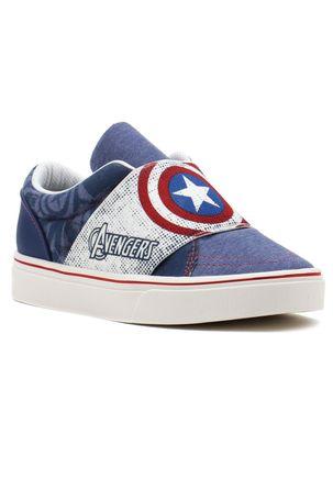 Tenis-Infantil-para-Menino-Avengers-Ultron-Branco-Azul