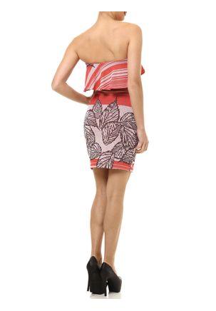 Vestido-Curto-Feminino-Autentique-Laranja
