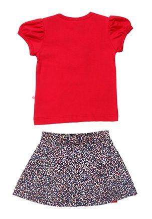 Conjunto-Infantil-para-Bebe-Menina---Vermelho