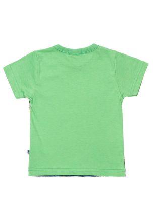 Camiseta-Manga-Curta-Infantil-para-Menino-Bebe---Verde