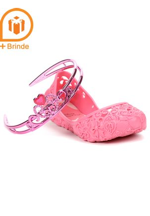 Sapatilha-Infantil-para-Menina-Disney-Princesas---Rosa---Brinde