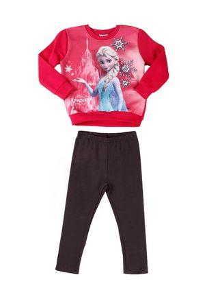 Conjunto-Infantil-Frozen-para-Menina---Pink-Grafite-