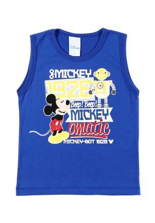 Camiseta-Regata-Infantil-Para-Menino-Disney---Azul