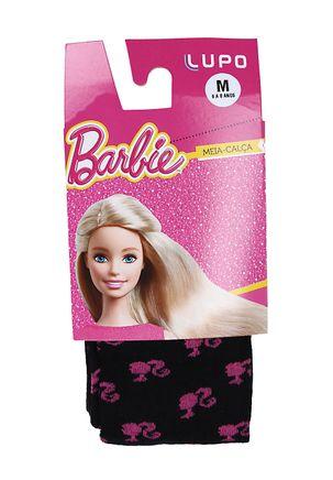 Meia-Calca-Infantil-para-Menina-Barbie---Preto