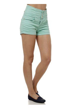 Short-Hot-Pants-Feminino-Verde