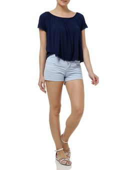 Short-Hot-Pants-Feminino-Azul