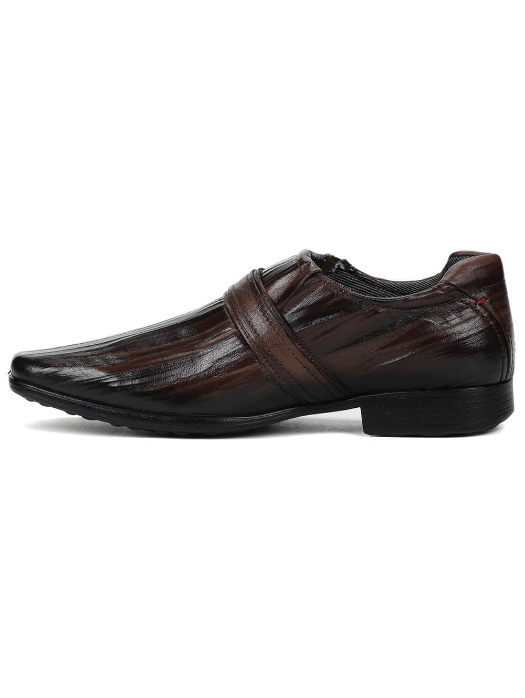 ed405a06b8 Sapato Social Masculino Pegada Marrom - Lojas Pompeia