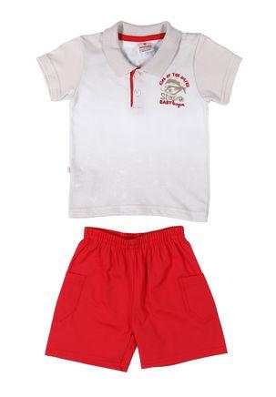Conjunto-Infantil-Para-Bebe-Menino---Branco-vermelho