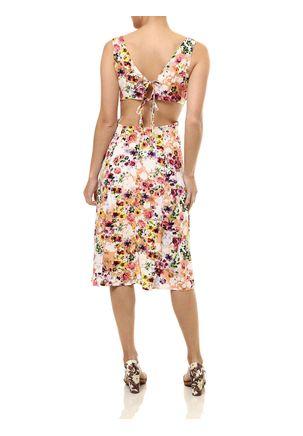 Vestido-Medio-Feminino-Autentique-Coral-Rosa