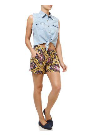 Camisa-Jeans-Manga-Curta-Feminina