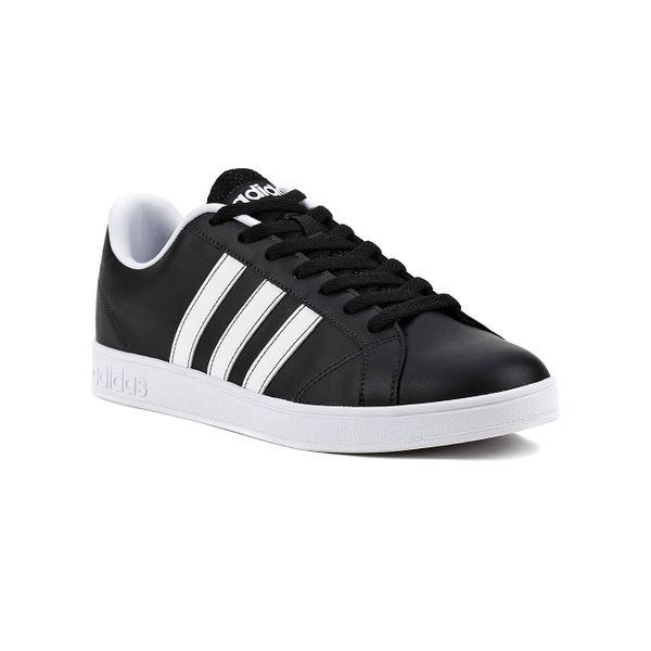 Tênis Casual Masculino Adidas Advantage Vs Preto branco - Lojas Pompeia 6d861cfd38597