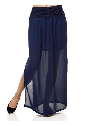Saia-Longa-Feminina-Azul-marinho