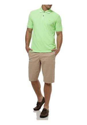 Polo-Manga-Curta-Masculina-Verde