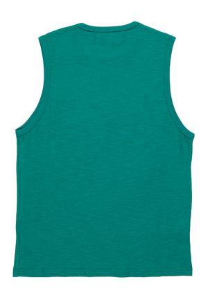 Camiseta-Regata-Juvenil-Para-Menino---Verde