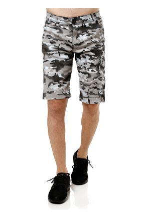 Bermuda-Jeans-Masculina-Cinza