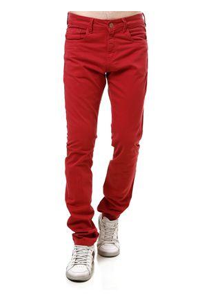 Calca-Sarja-Masculina-Vermelho