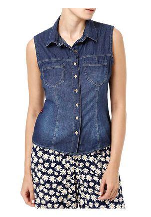 Camisa-Jeans-Regata-Feminina-Azul