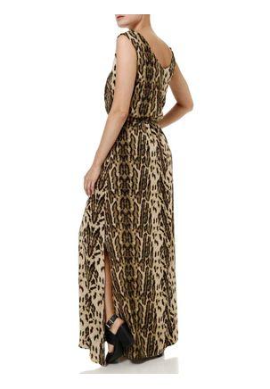 Vestido-Curto-Feminino-Autentique-Marrom
