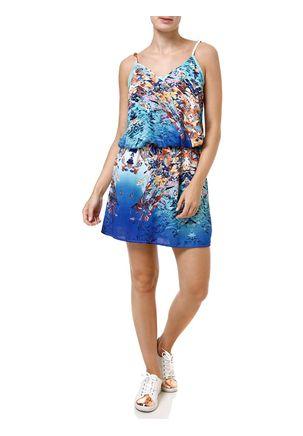 Vestido-Curto-Feminino-Azul-claro